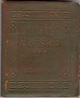 Julius Caesar: Little Leather Library Miniature Green Redcroft