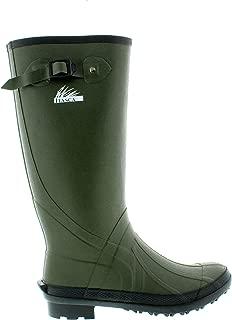 Men's Waterproof Swampwalker Classic Chore Removable Liner Rain Boot
