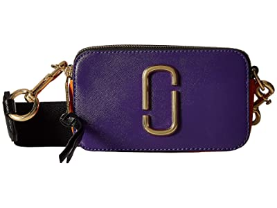 Marc Jacobs Snapshot (Violet Multi) Handbags