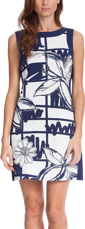 Desigual Women's Sleeveless Palam Printed Dress