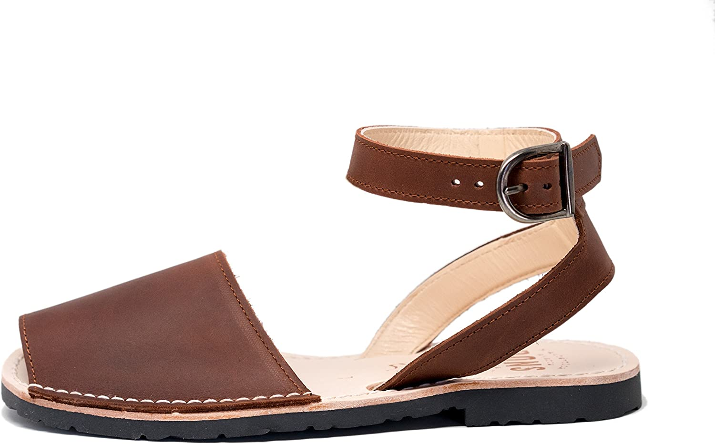 Pons 521 - Avarca Classic Style Strap - Chocolate - 34 (US 4)