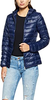 Ea7 emporio armani Women's Down Jacket, Black, S