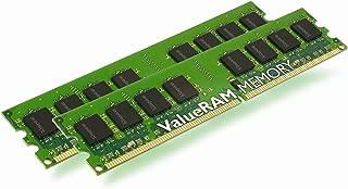 Kingston ValueRAM 4GB 800MHz DDR2 Non-ECC CL6 DIMM (Kit of 2) Desktop Memory