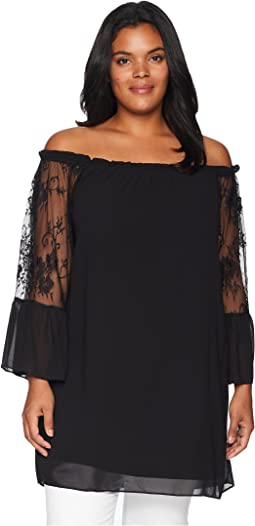 Plus Size Harper Lace Tunic