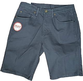 Blue Regular Fit Flex Duck Utility Shorts