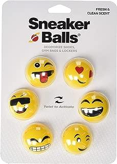 Sneaker Balls Shoe, Gym Bag, and Locker Deodorizer, 3 Pair