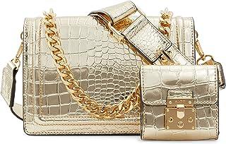ALDO Damen Women's Crossbody Bag Umhängetasche Qiemar, Einheitsgröße