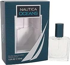 Nautica Oceans Eau de Toilette Spray, 1 Ounce