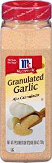 McCormick 930443 Granulated Garlic, 26 Oz