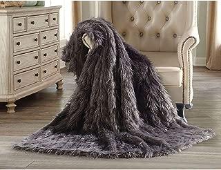 Member's Mark Luxury Faux Fur Throw - Wolf