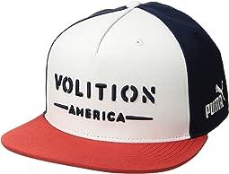 Volition Camo Snapback Cap