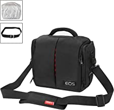 Camera Shoulder Bag Camera Case Messenger Bag Waterproof Shoulder Satchel for Canon EOS 100D 1200D 450D 700D 500D 550D 600D 650D 60D 70D 750D 760D 1100D Waterproof and Shockproof