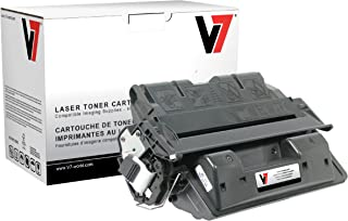V7 V761XG Remanufactured High Yield Toner Cartridge for HP C8061X (HP 61X) - 10000 Page Yield