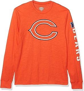 OTS NFL Mens NFL Chicago Bears Men's Slub Long Sleeve Team Name Tee