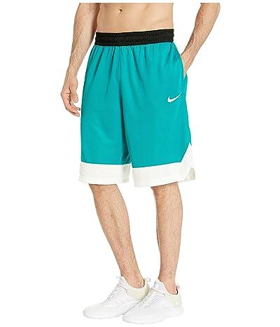 Nike Dry Icon Shorts (Spirit Teal/White/White) Men