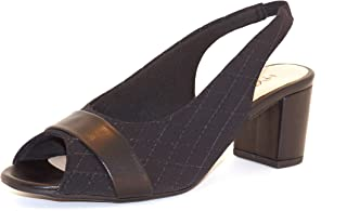 Hype Women's Peep Toe Sling Back Casual Sandal ZD9720 (Guil)
