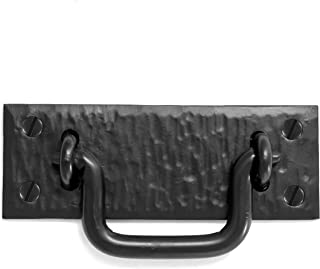 Horse/'s head Blacksmith made Entrance door pull handle Steel gate /& Shed handles medium Set of 2 hand forged door pulls Wrought iron