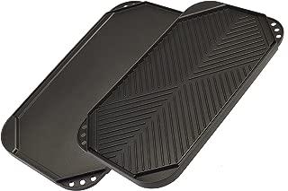 Ecolution ECAG-3220 Grill Griddle, Black, 19.5