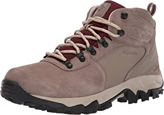 Columbia Mens Newton Ridge Plus Ii Suede Waterproof Boot, Breathable with High-Traction Grip