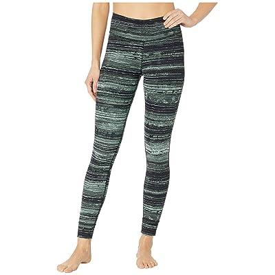 Reebok Lux Tights Stratified Stripes (Industrial Green) Women