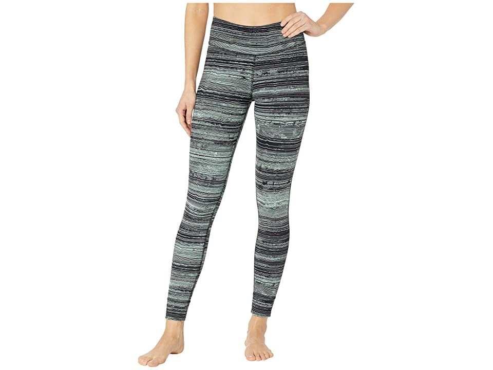 Reebok Lux Tights Stratified Stripes (Industrial Green) Women
