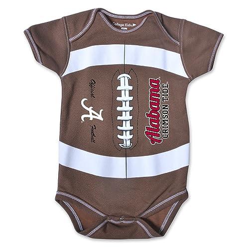 outlet store 05e23 7fc7d Alabama Crimson Tide Baby Clothes: Amazon.com