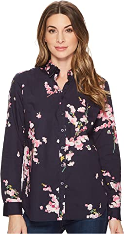 Lucie Printed Classic Shirt