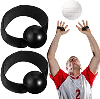Skylety 4 Pieces Volleyball Training Technique Setting Aid Volleyball Equipment for Teaching Proper Hand Placement and Pre...