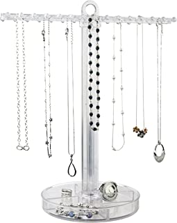clear acrylic jewelry display