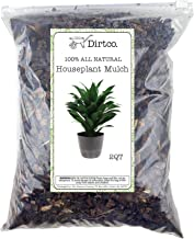 Houseplant Mulch - Small bark Wood Chips for Indoor, Patio, Potting Media, and Much More! (2qts)