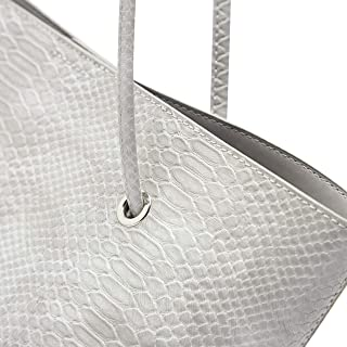Shoexpress Reptile Textured Tote Bag with Pouch