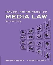 Major Principles of Media Law, 2015