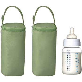 Bellotte Insulated Baby Bottle Bags (2 Pack) - Travel Carrier, Holder,Tote,Portable Breastmilk Storage