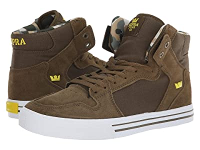 Supra Vaider (Olive/Golden/White) Men