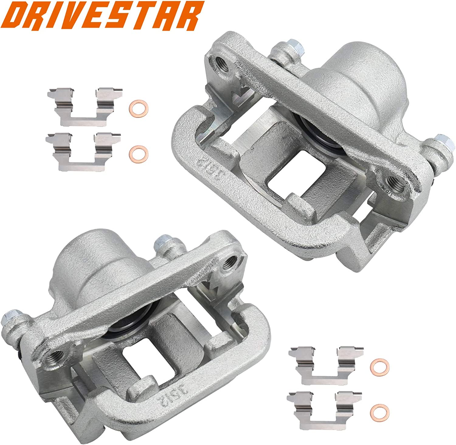 A-Premium Brake Caliper Assembly Compatible with Infiniti G35 Nissan 350Z Murano Quest 2003-2009 Rear Left