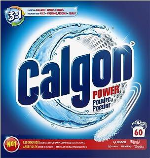 Calgon Poudre Anticalcaire Nettoyant Lave-Linge 3en1 - 60 Lavages