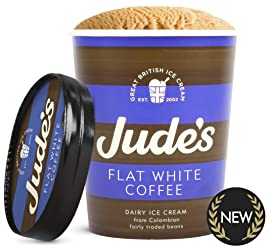 Jude's Flat White Coffee Ice Cream, 500 ml (Frozen)
