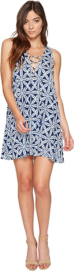 Rancho Mirage Lace-Up Tunic
