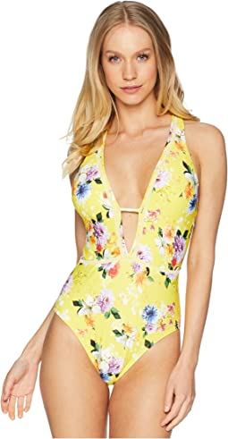 Monaco Bouquet Goddess One-Piece