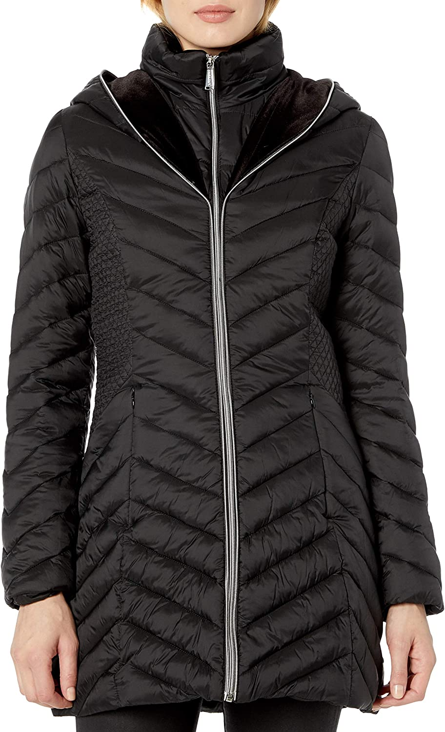 LAUNDRY BY SHELLI Special price SEGAL Women's V Lightweight Jacket Puffer with 5 popular