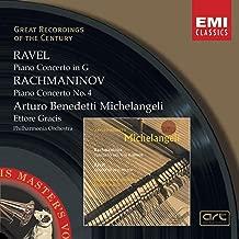 Ravel: Piano Concerto in G / Rachmaninov: Piano Concerto No. 4 Great Recordings of the Century