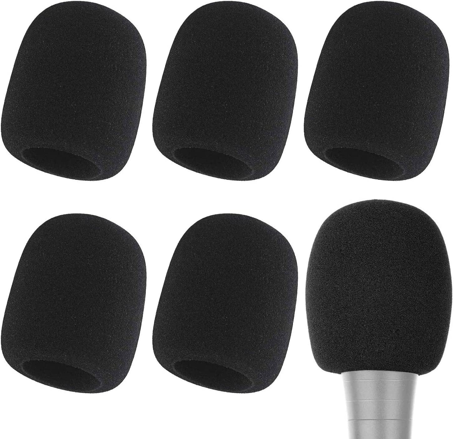 New mail Free shipping anywhere in the nation order Microphone Cover - Foam Mic for Windscreen Suitable Covers Most