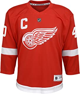 red wings game jersey