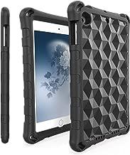 iPad Mini Tablet Case,iPad Min 5 Case,iPad mini 4 Case,Mr.Spades Light Weight [Kids and Adult Friendly] Anti-Slip Shock-Absorption Tablets Cover for iPad Mini 5 & iPad Mini 4 - Black