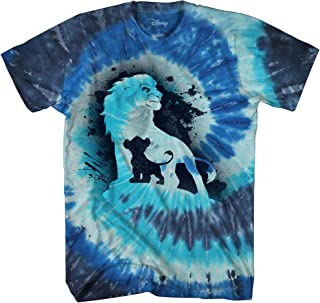 Disney Lion King Future King Africa Simba Mufasa Tie Dye Disneyland World Tee Adult Men's Graphic T-Shirt Apparel