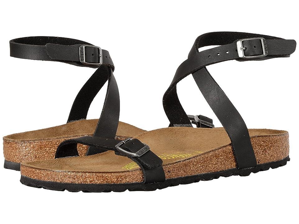 Birkenstock Daloa (Black) Women's Dress Sandals
