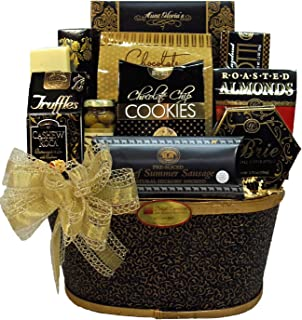 Delight Expressions™ Thoughtful Wishes Gourmet Food Gift Basket - Holiday Christmas Gift Basket