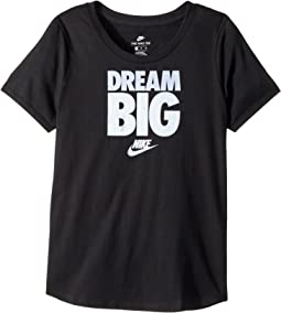 Nike Kids - Sportswear Scoop Dream Big Tee (Little Kids/Big Kids)