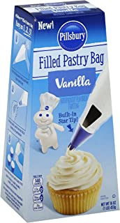 Pillsbury Traditional Cake Mix, Vanilla, 15.25 Ounce (Pack of 12)