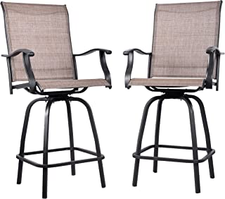 bar height sling chairs